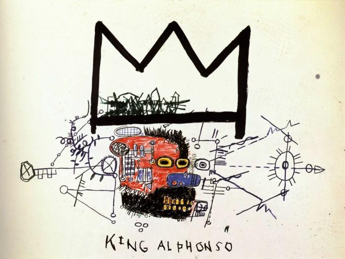 King Alphonso Jean-Michel-Basquiat