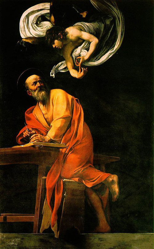 The Inspiration of Saint-Matthew
