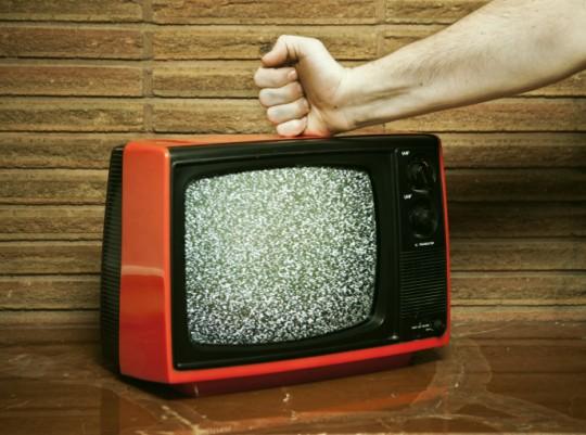 Broken Televison