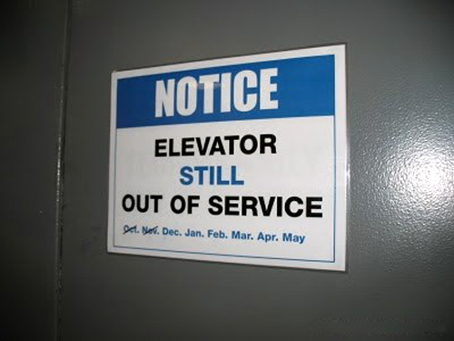 Elevator Out of Service