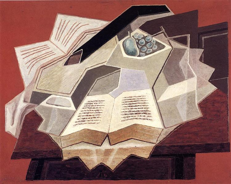 The Open Book (Juan Gris, 1925)