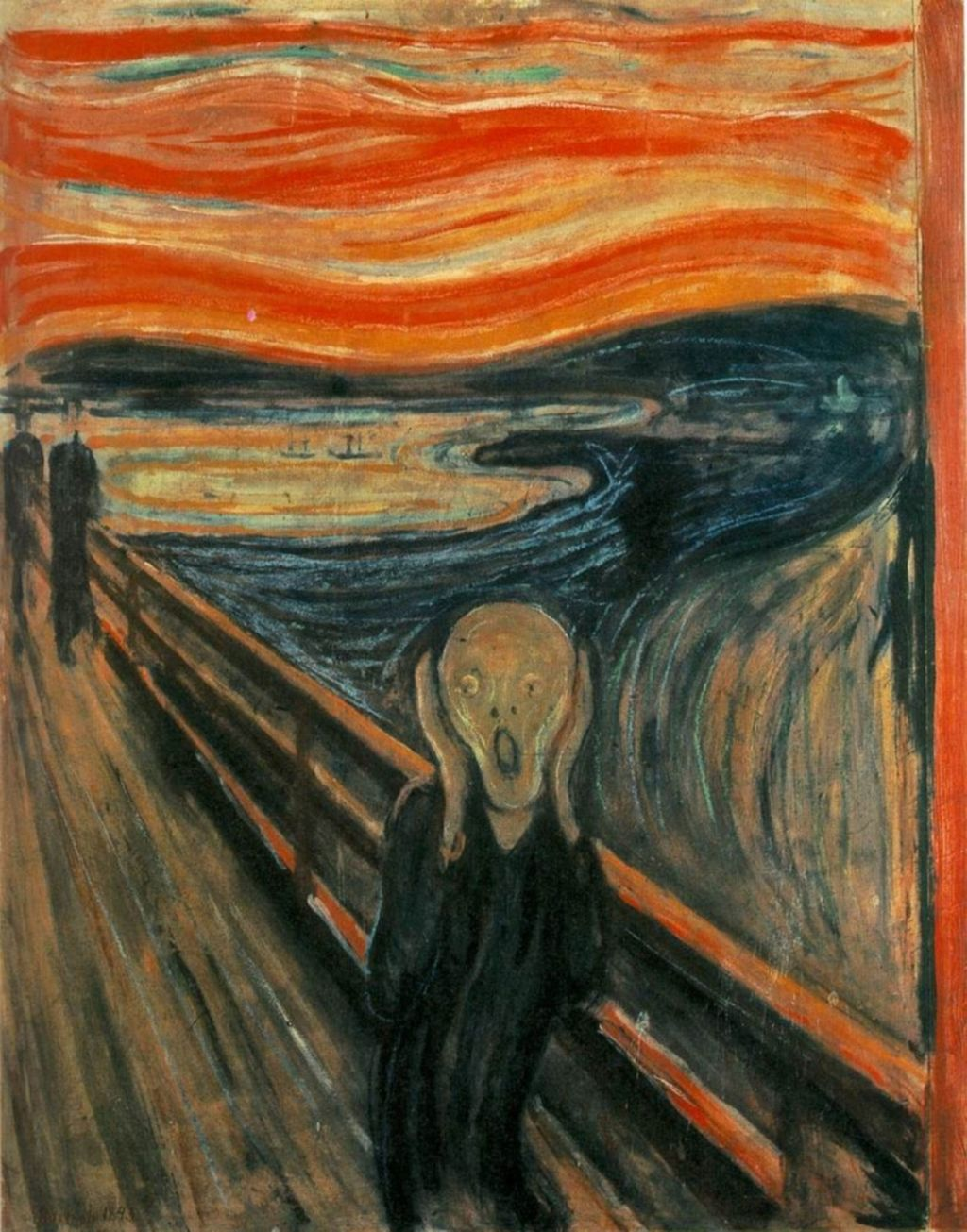 The Scream (Edvard Munch, 1893)