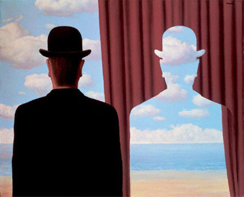 Decalcomanie (Rene Magritte, 1996)
