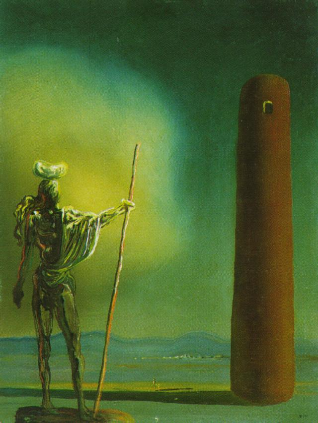 The Knight At The Tower (Salvador Dali, 1932)