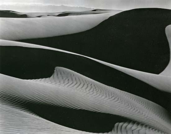 Dunes, Oceano (Edward Weston, 1936)