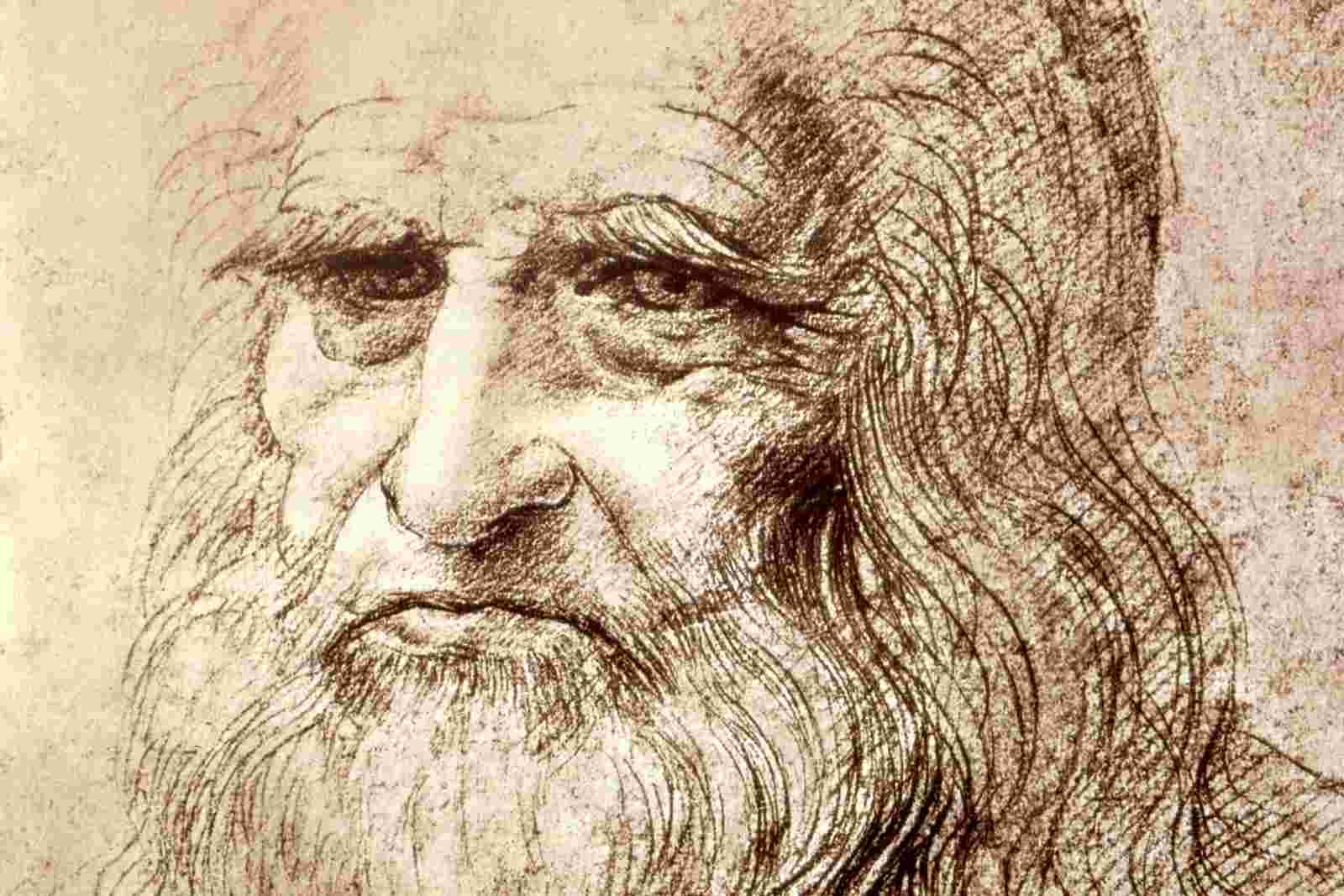 Self Portrait (Leonardo da Vinci, 1512)