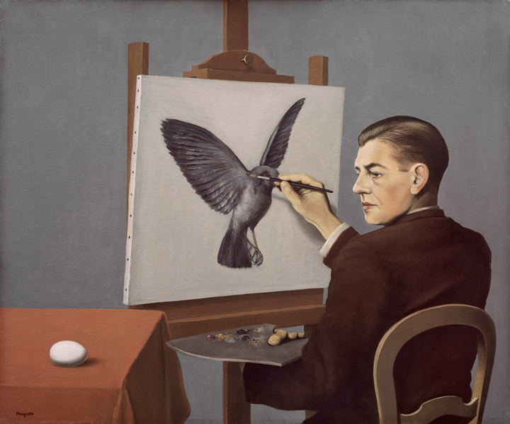 Clairvoyance (Rene? Magritte, 1936)