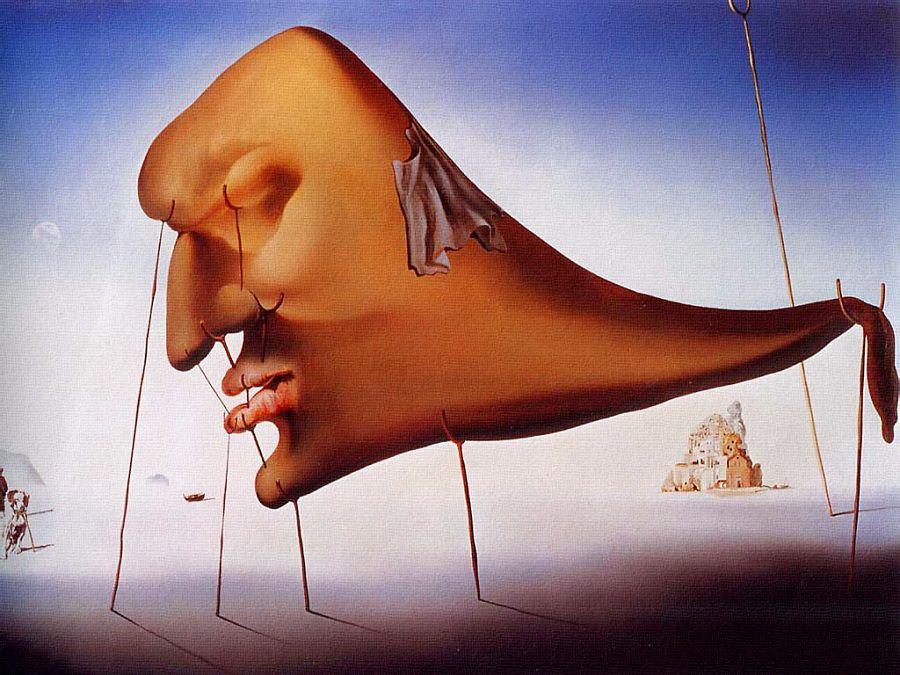 Le Sommeil (Salvador Dali, 1937)