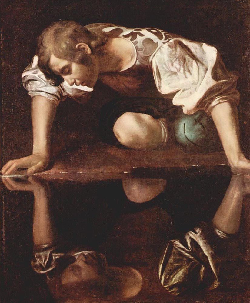 Narcissus (Carravagio, C. 1597-99)