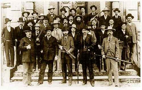 Texas Rangers in El Paso, Texas, 1896