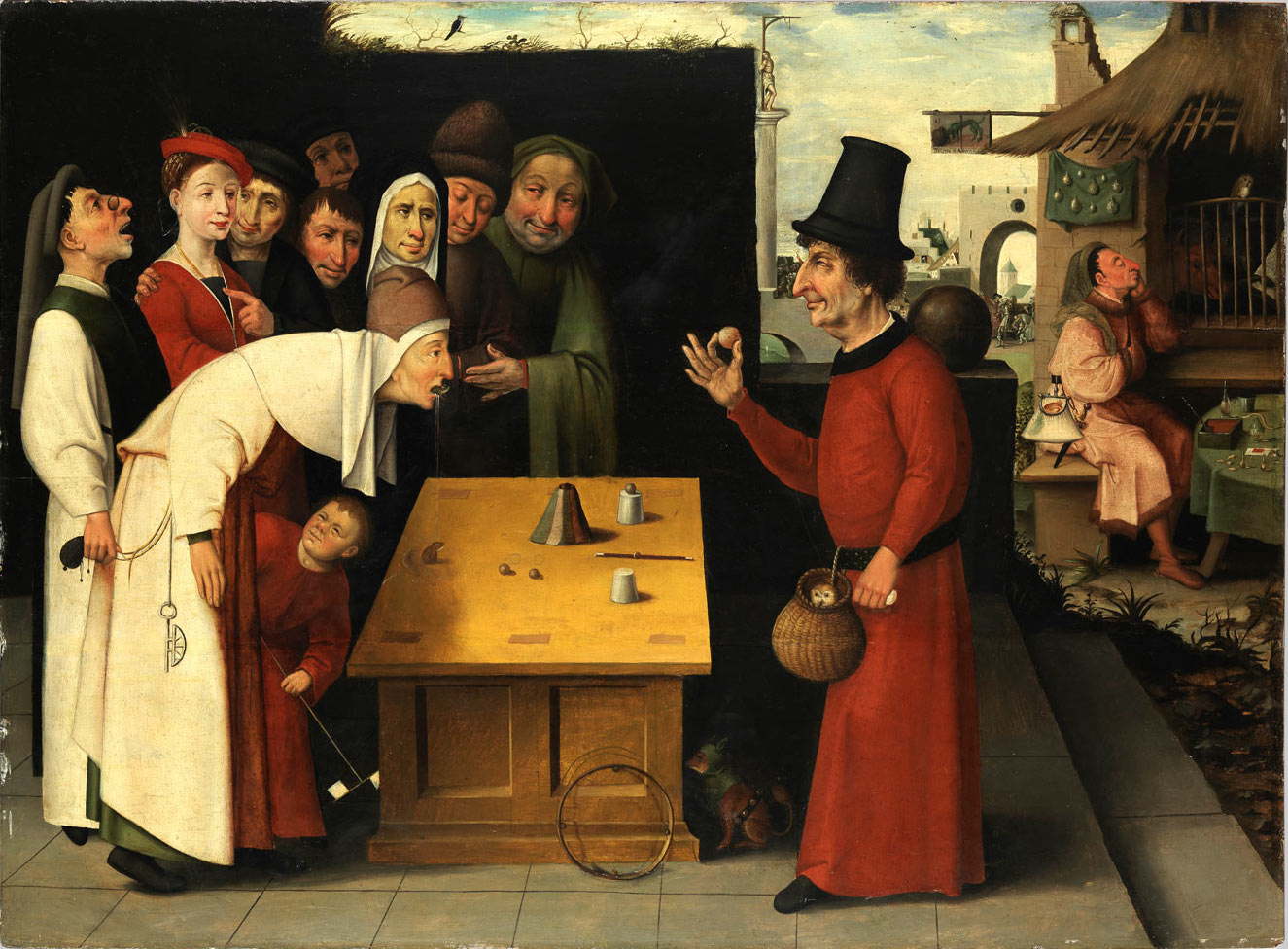 The Conjurer (School of Hieronymus Bosch, after 1500)