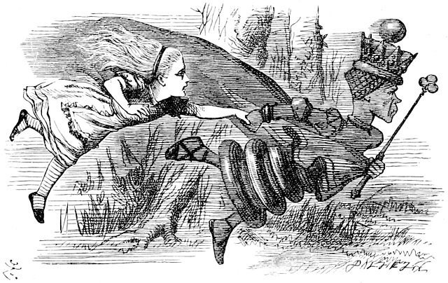 The Red Queen (Sir John Tenniel, 1871)