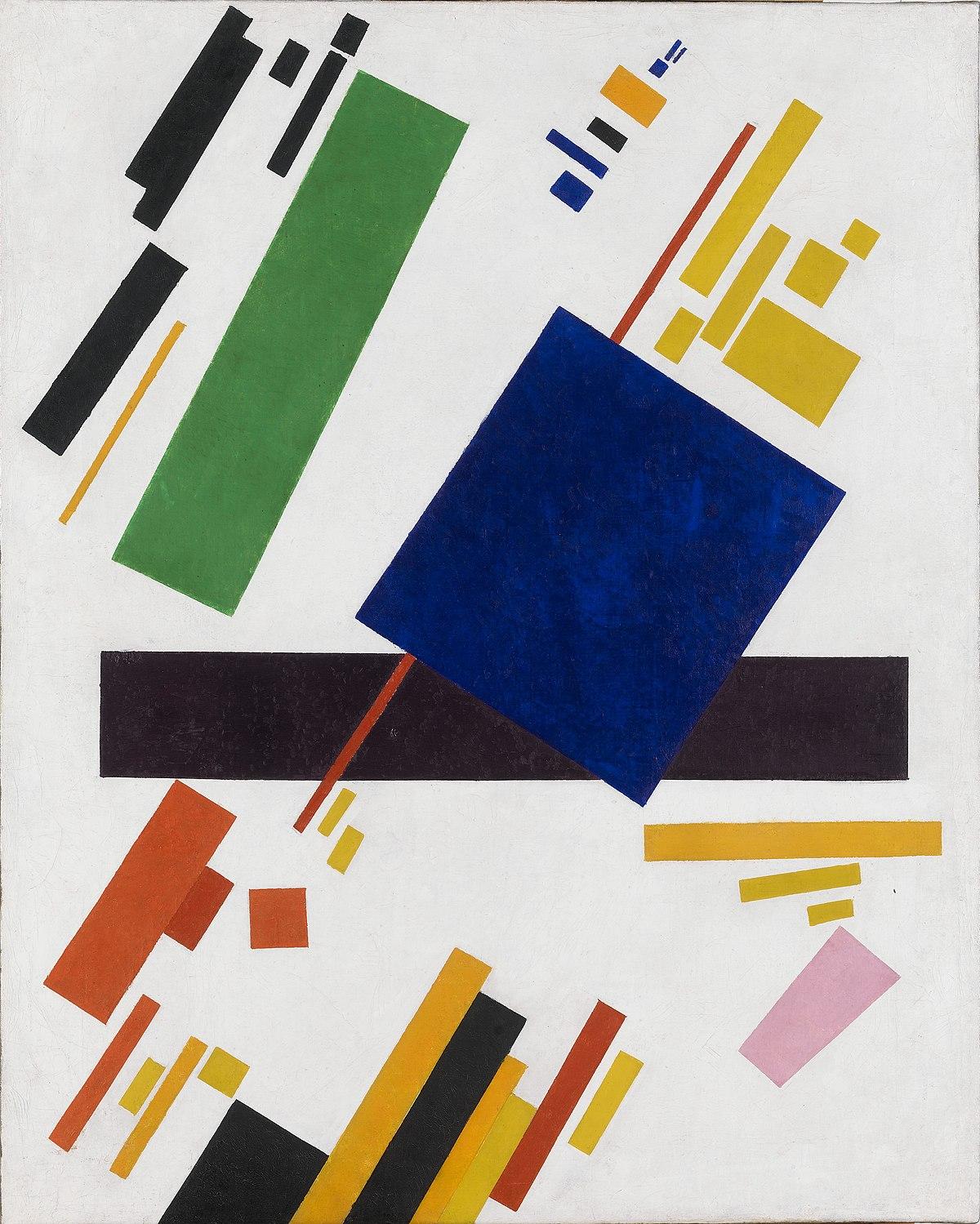 Suprematist Composition (Kazimir Malevich, 1916)