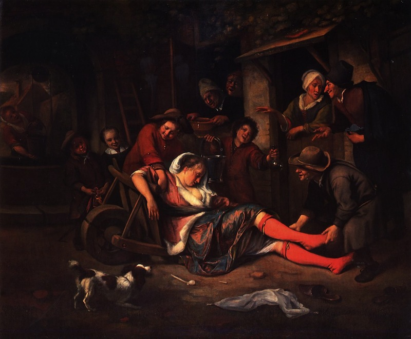 Wine is a Mocker (Jan Steen, 1663–64)