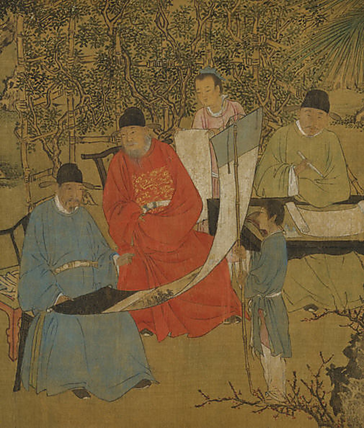 Elegant Gathering in the Apricot Garden (Xie Huan Ca. 1437)