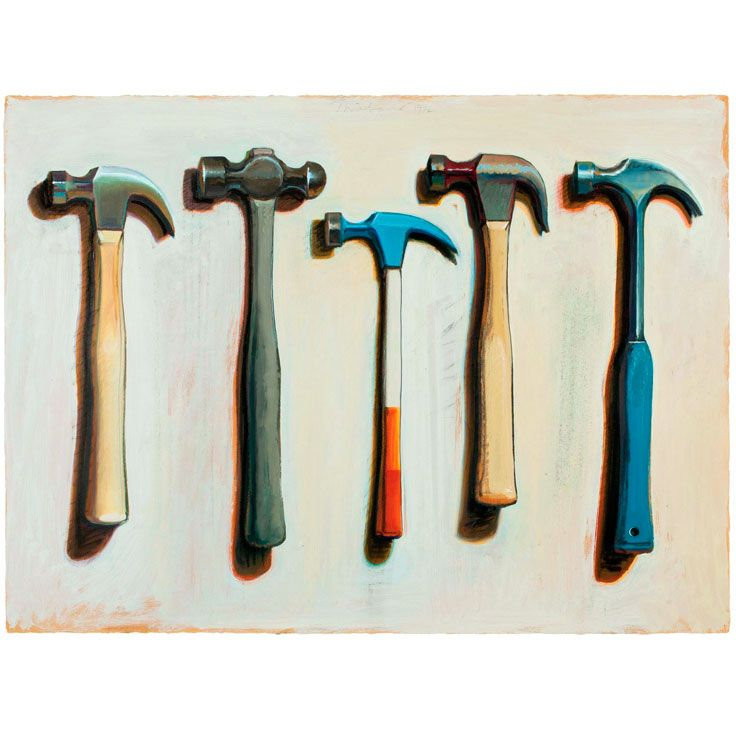 Five Hammers (Wayne Thiebaud, 1972 )