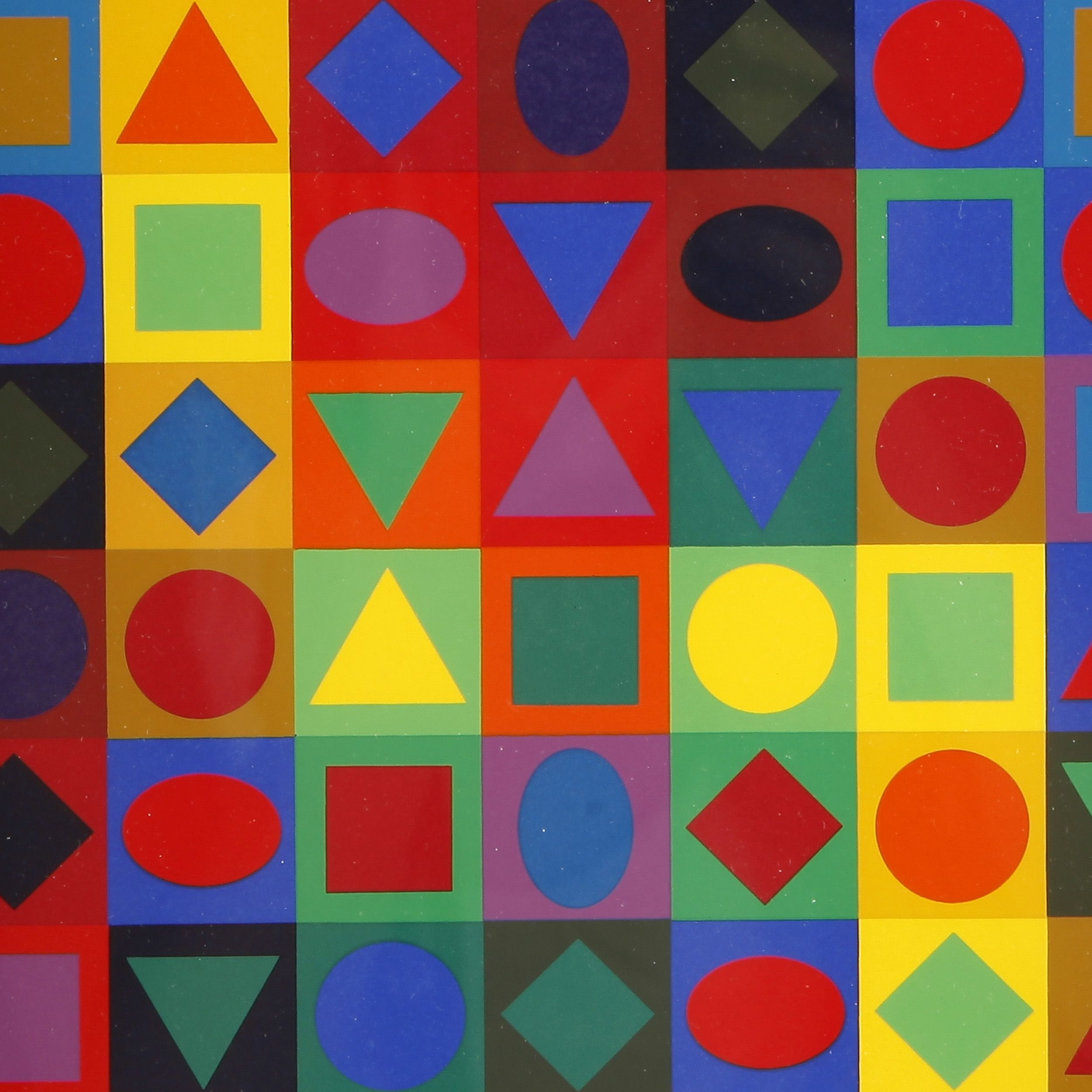 Planetary Folklore (Victor Vasarely, 1969)